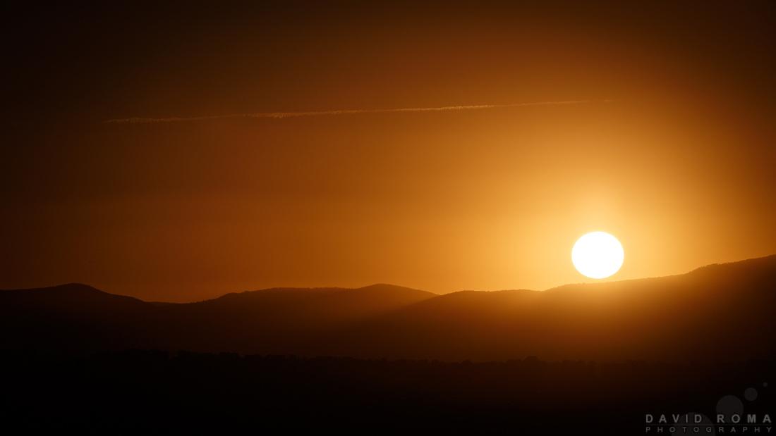Simple Sunrise - Bathurst, NSW, Australia