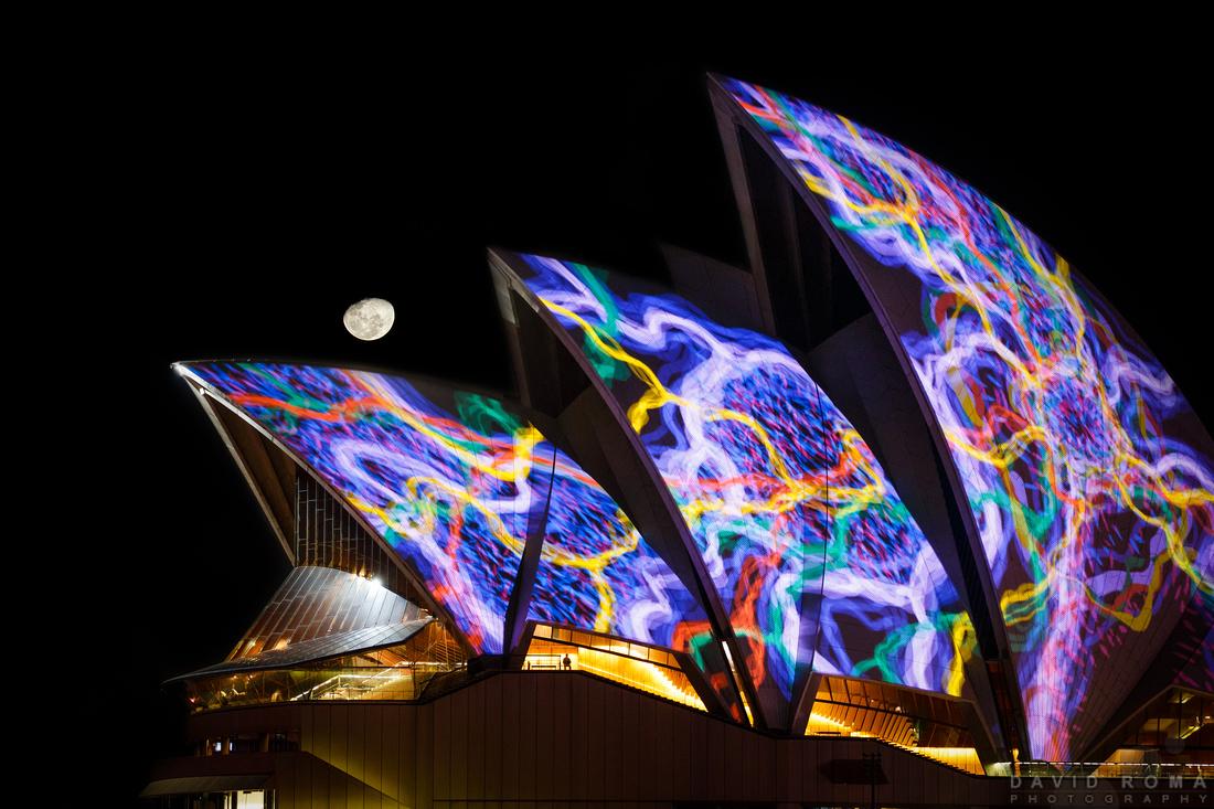 Opera House Moon