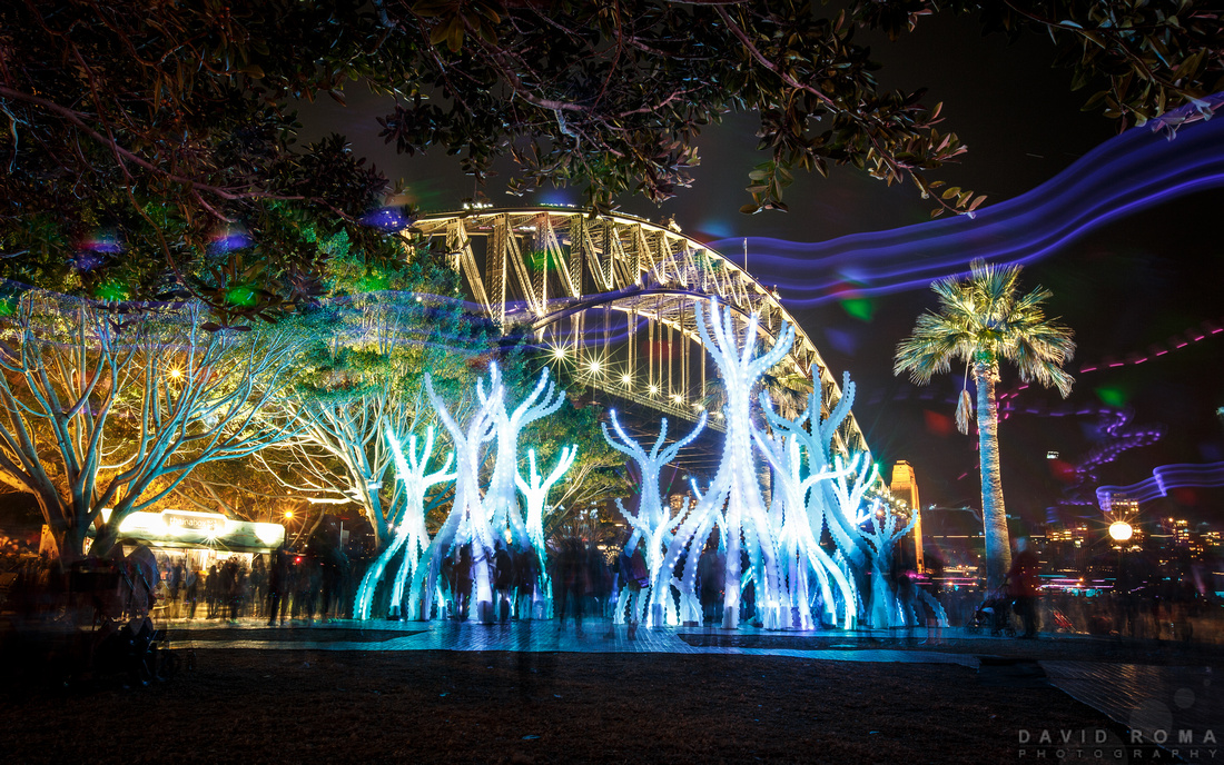 Celebrating Sydney - Arclight, Vivid Sydney 2015