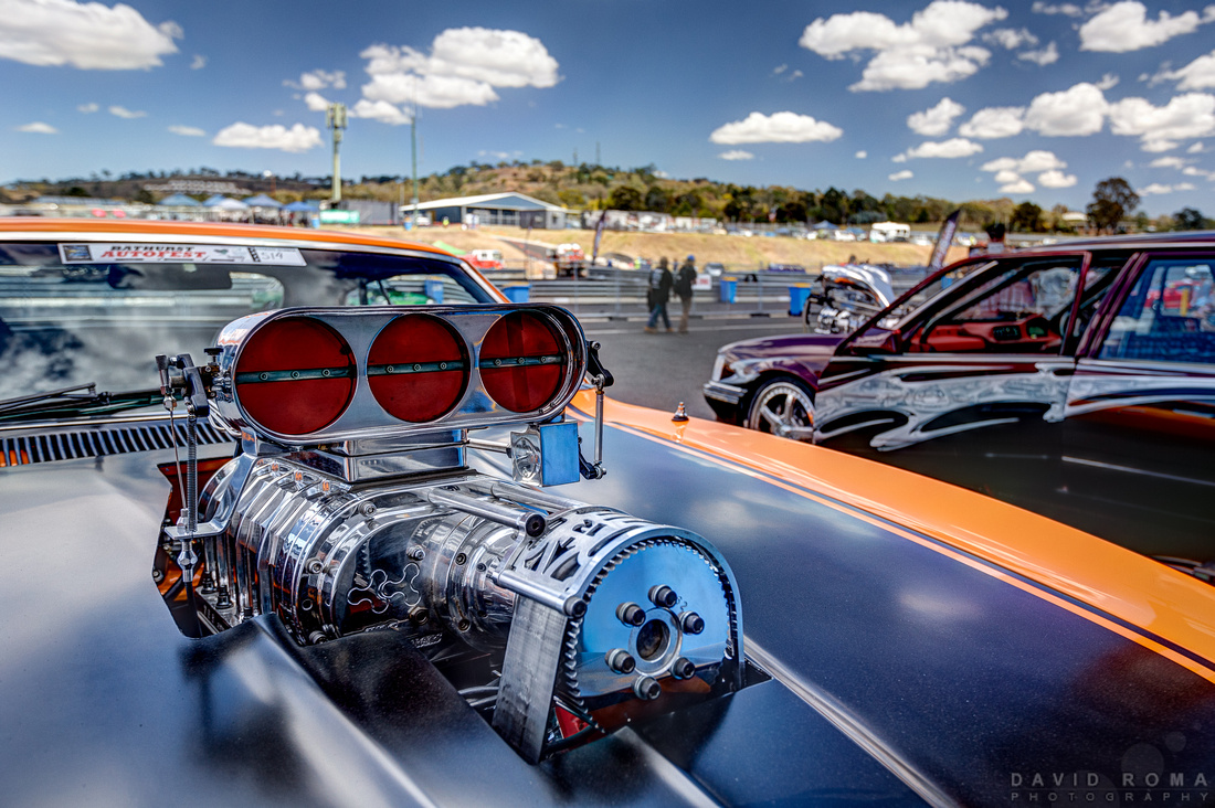 Blown Ford XA Falcon - Bathurst Autofest, Mt. Panorama