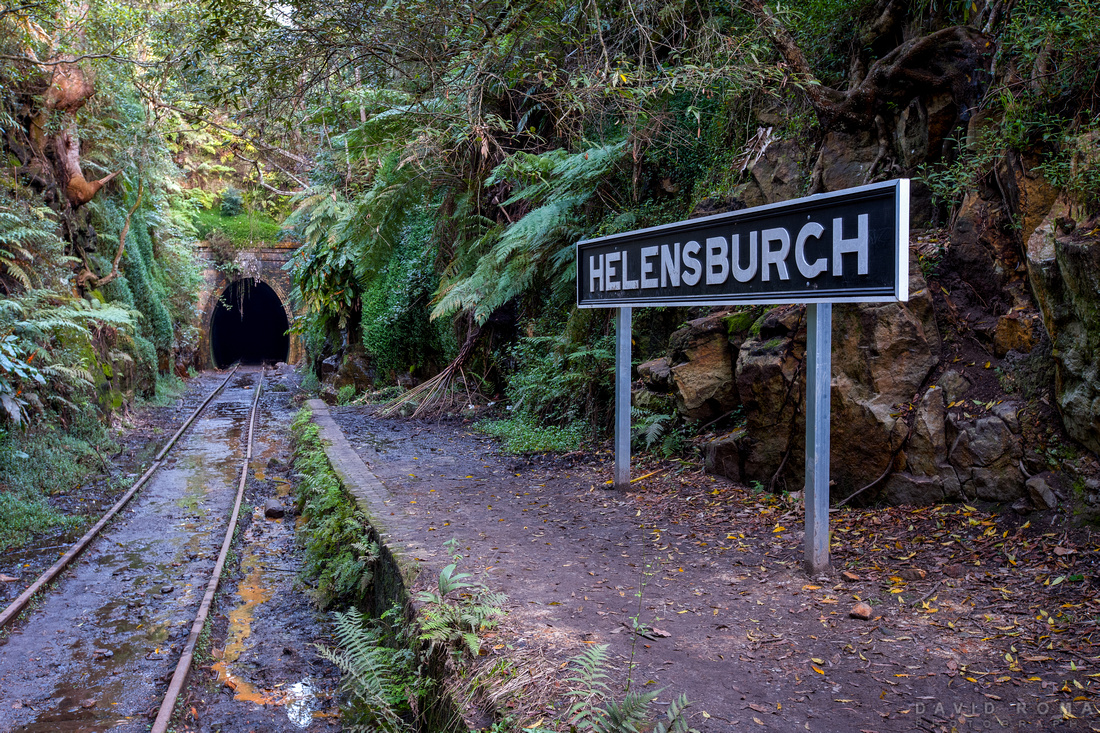 Helensburgh Metropolitan Tunnel Sign