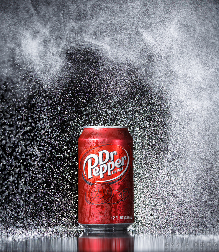 Tsunami of Dr. Pepper