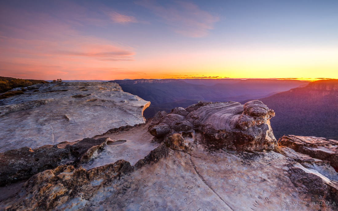 Flat Rock - Wentworth Falls, NSW, Australia