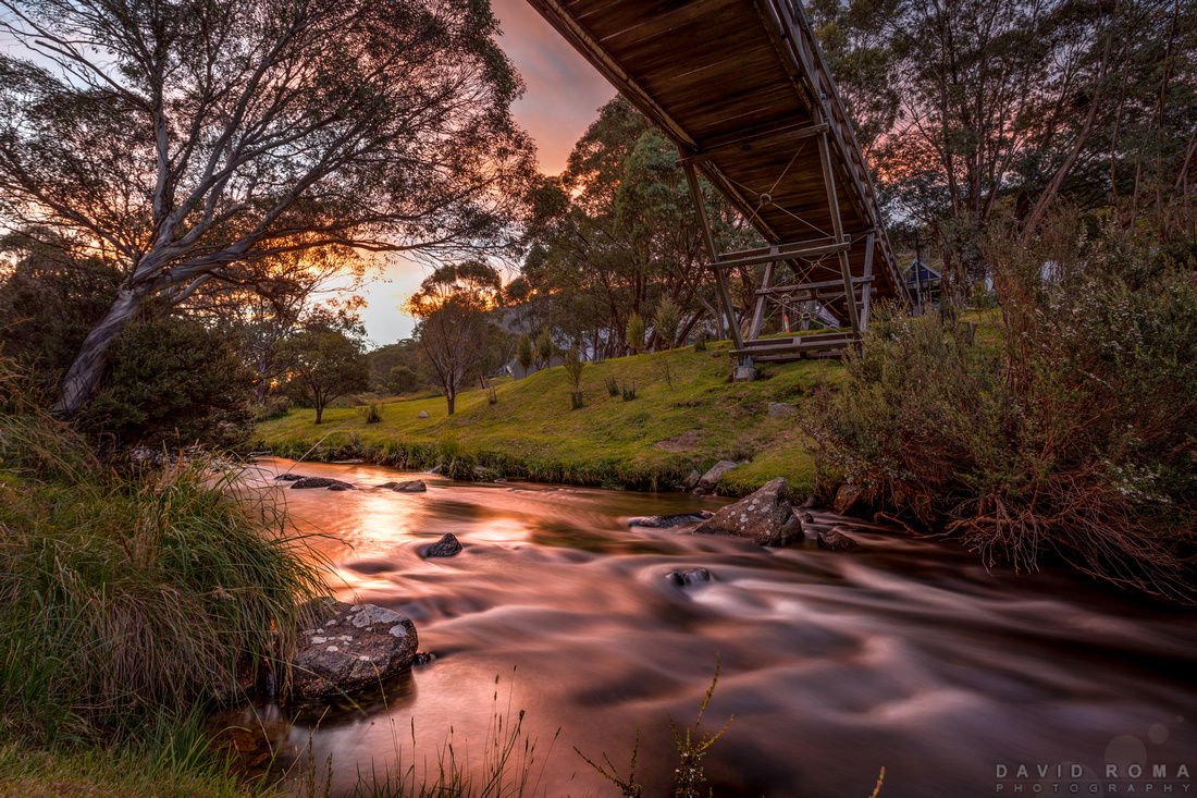 Thredbo footbridge - Thredbo, NSW, Australia