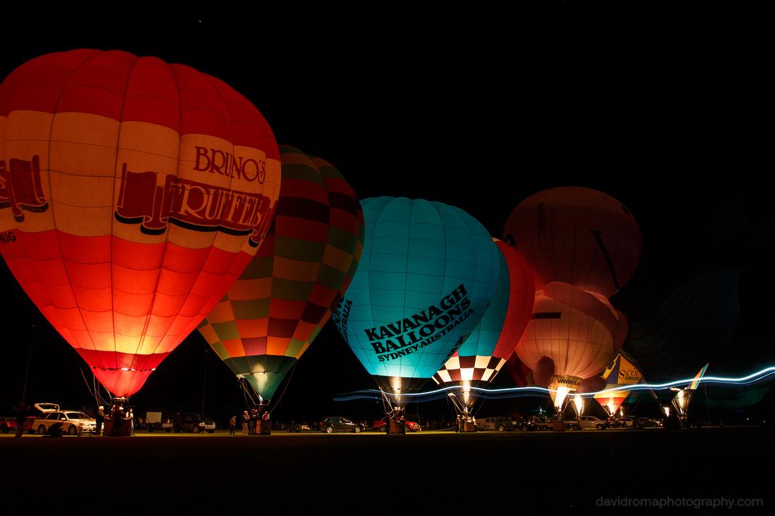 Balloon Glow streak