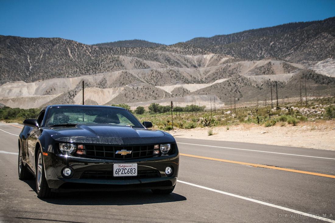 Chevrolet Camaro - Death Valley, California, USA