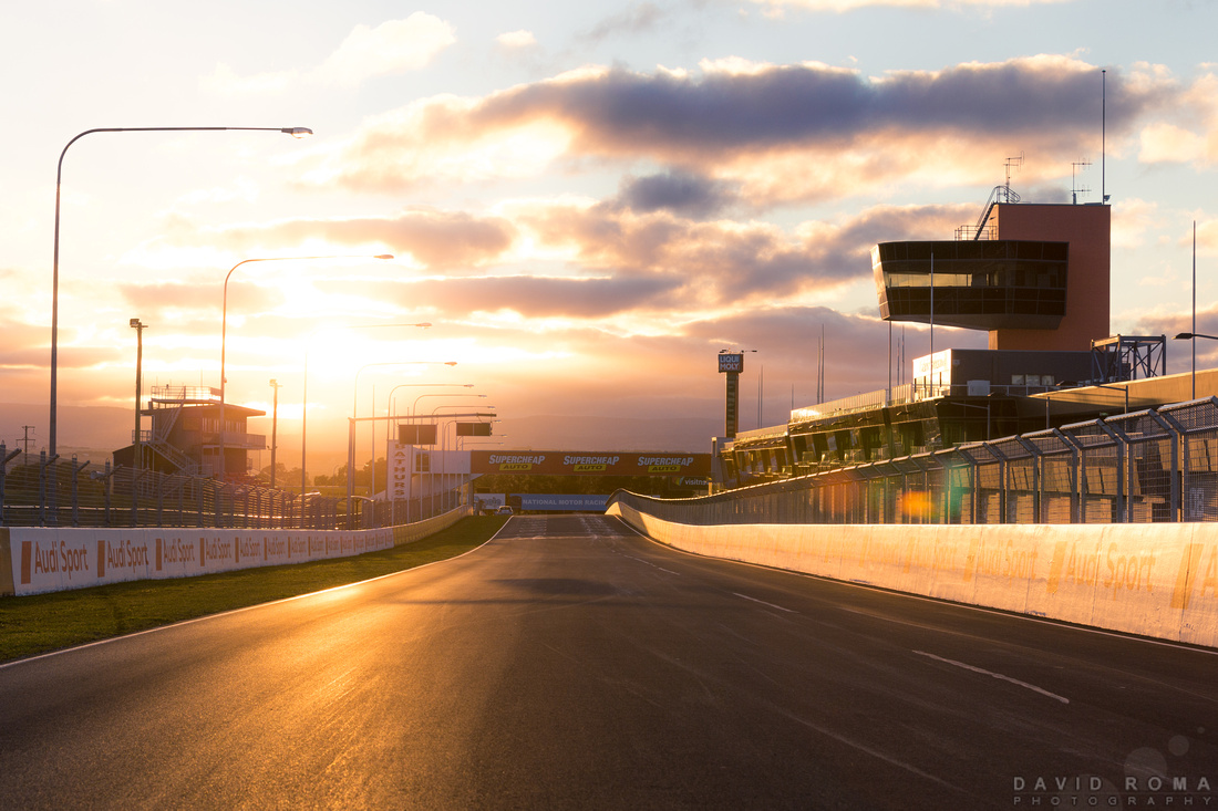 Soft Sunrise at Mount Panorama