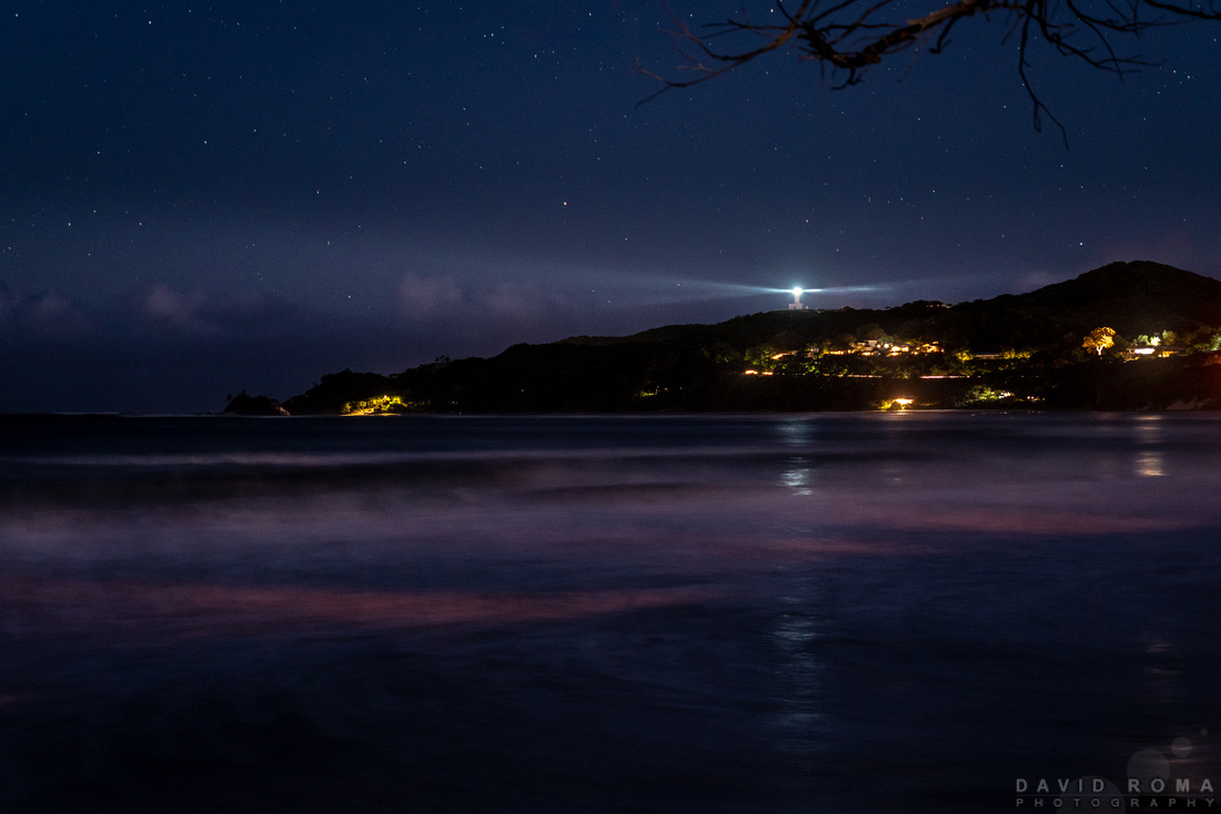 Byron Lighthouse from beach