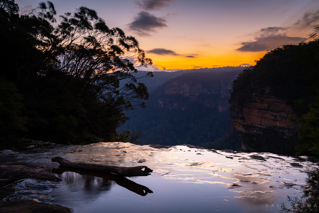Sunsets on Wentworth Falls