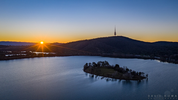 Sunsets on Canberra