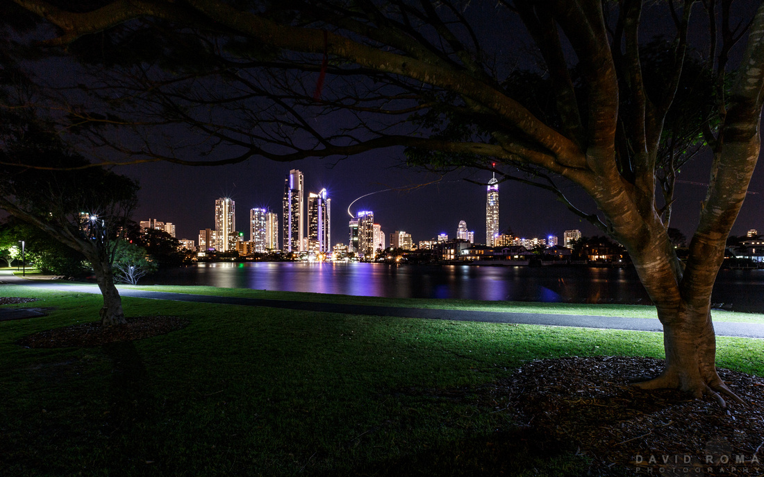 Surfers Paradise by night
