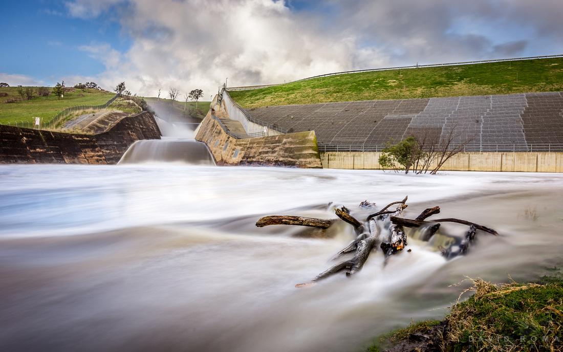 Ben Chifley Dam Overflow