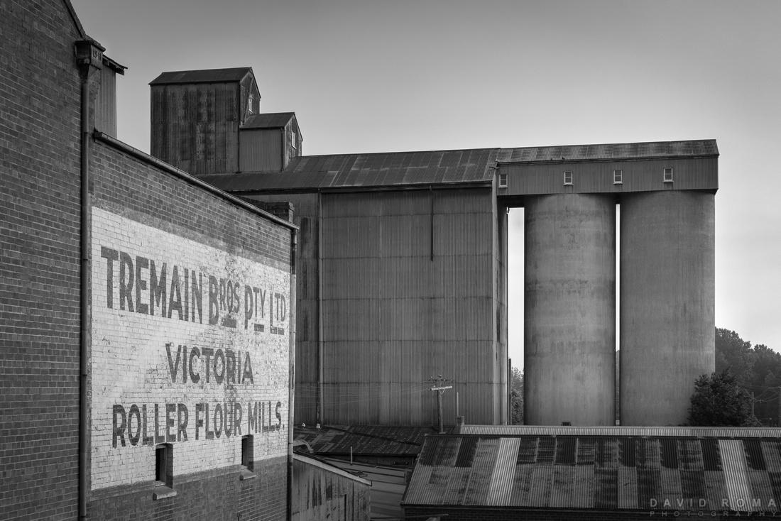 Tremain Mill monochrome