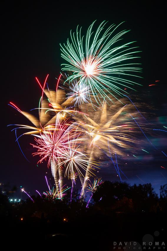 Royal Bathurst Show Fireworks Colour