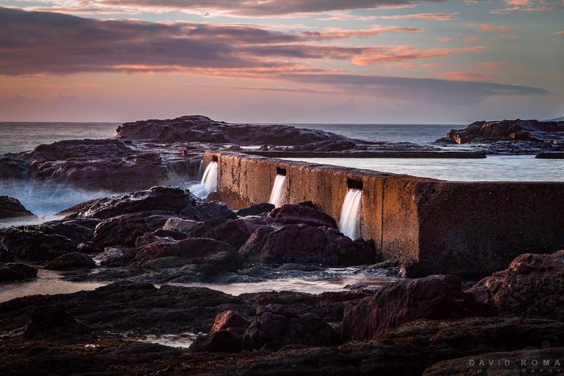 Ocean Waterfalls