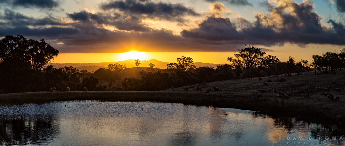 Sunset at Rockley Mount