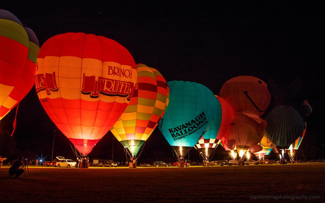 Balloon Glow Grand Finale