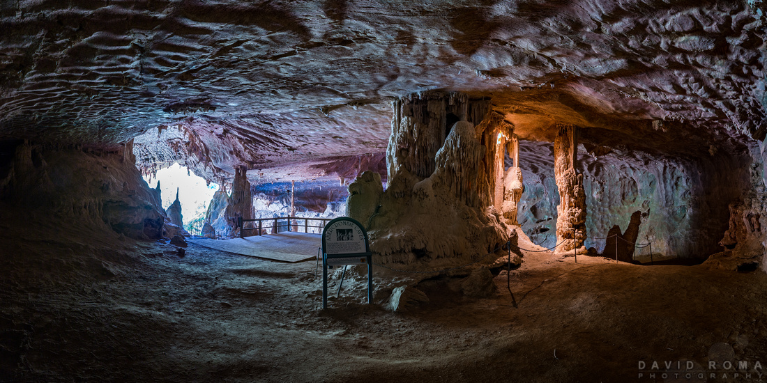 Abercrombie Caves panorama