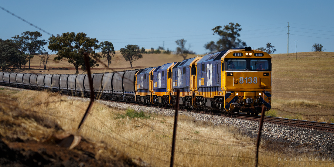 8138 - Train outside Molong